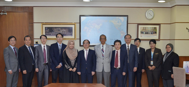 State Audit Office of Vietnam working with Malaysian National Audit Department (NAD) and Board of Audit and Inspection of Korea (BAI)