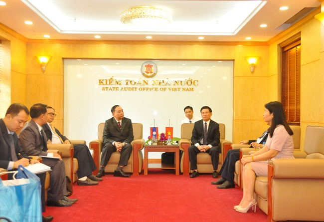 SAV and SAI Laos jointly organize training course for Laos officials in the field of public audit