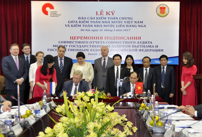 Vietnam – Russia Joint Audit Report signed in Hanoi